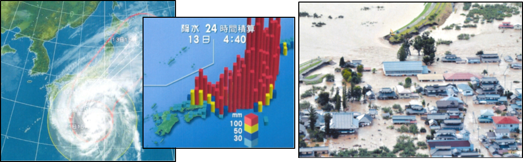 2019年台風19号襲来 甚大な被害