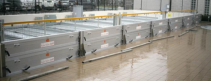 7連2段の止水板(防水板)