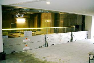 3連2段の止水板(防水板)